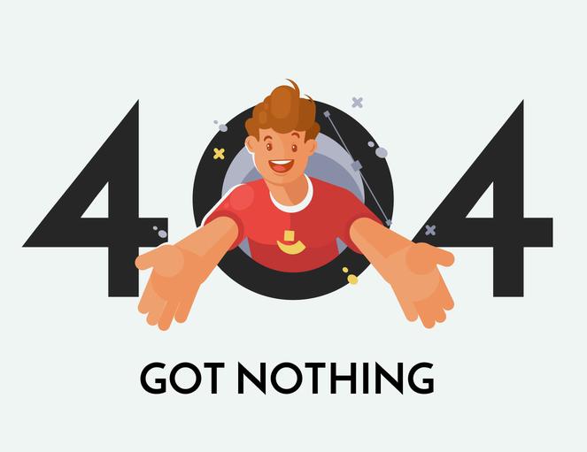 【推荐】做了个简约炫酷的404